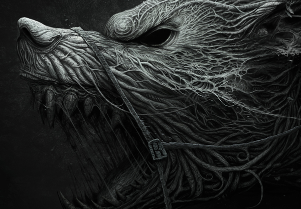 Anton Semenov – Black dream detail