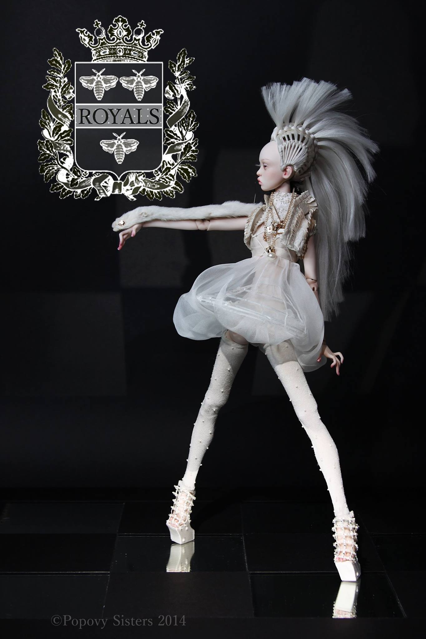 Creation Art dolls – Popovy systers – Russia