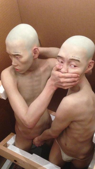 CHOI XOOANG – Sculpture hyper réaliste – Corée du sud