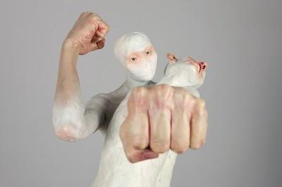 Choi Xooang hyperrealist sculptures