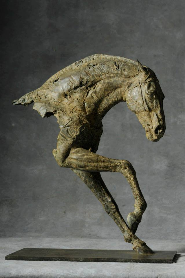 Christophe Charbonnel – sculpture cheval