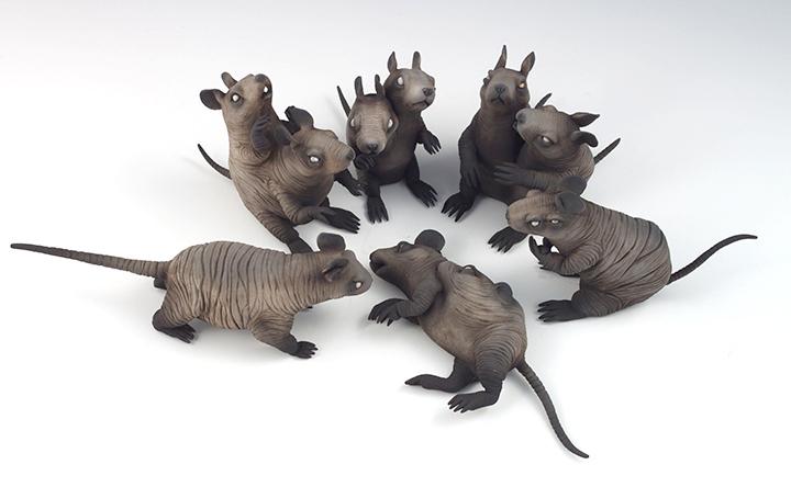 Erika Sanada – An Unfortunate End – sculptures