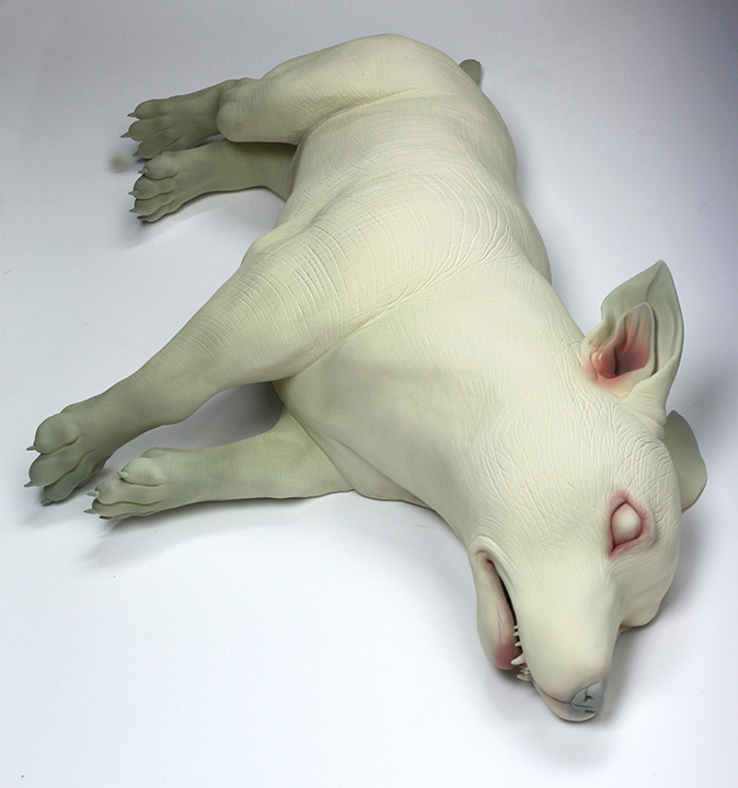 Erika Sanada - Im listening - sculptures