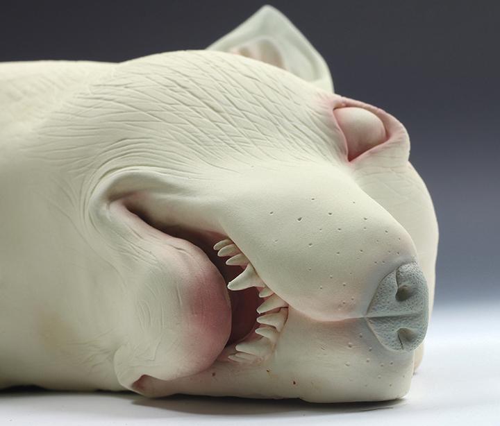 Erika Sanada – Im listening – sculptures