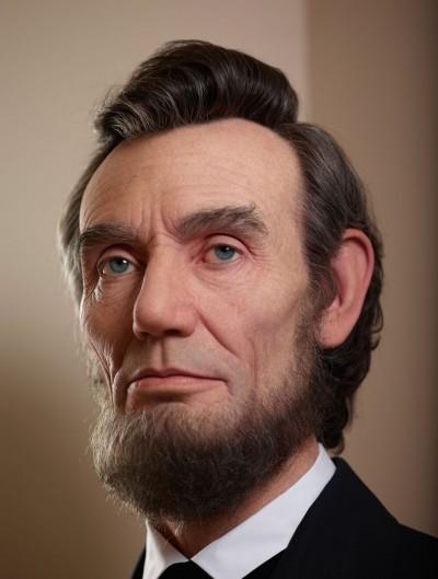 Kazuhiro Tsuji – Sculpture Abraham Lincoln – Sculpture hyperrealiste