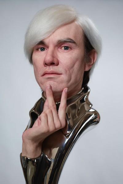 Kazuhiro Tsuji – Sculpture Andy Warhol – Sculpture hyperrealiste