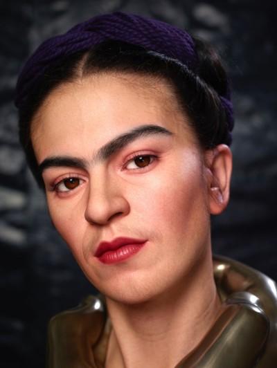 Kazuhiro Tsuji –  Sculpture Frida Khalo – Sculpture hyperrealiste