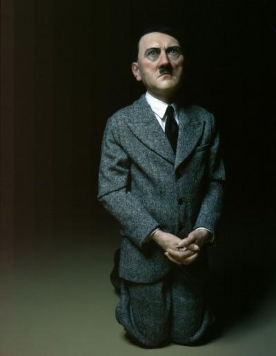 "Maurizio Cattelan – ""him"" – Sculpture Hitler"