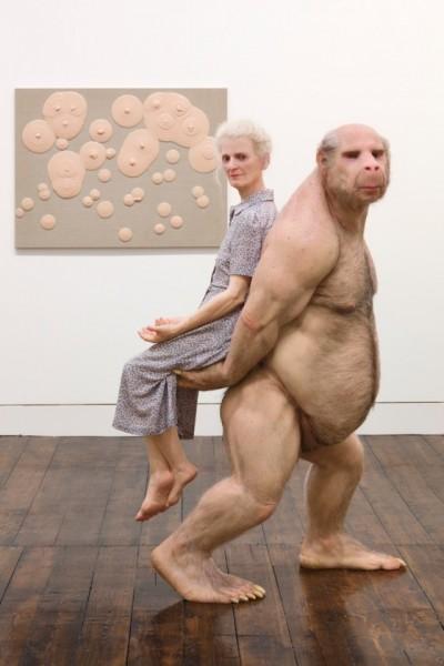 Patricia Piccinini – sculpture The Carrier