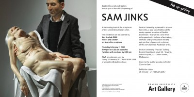 Sam Jinks Exhibition Melbourne 2017 sculptures hyperrealiste