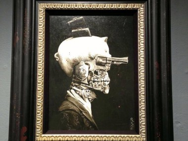 Santiago CARUSO – Portrait of a Crime tableau