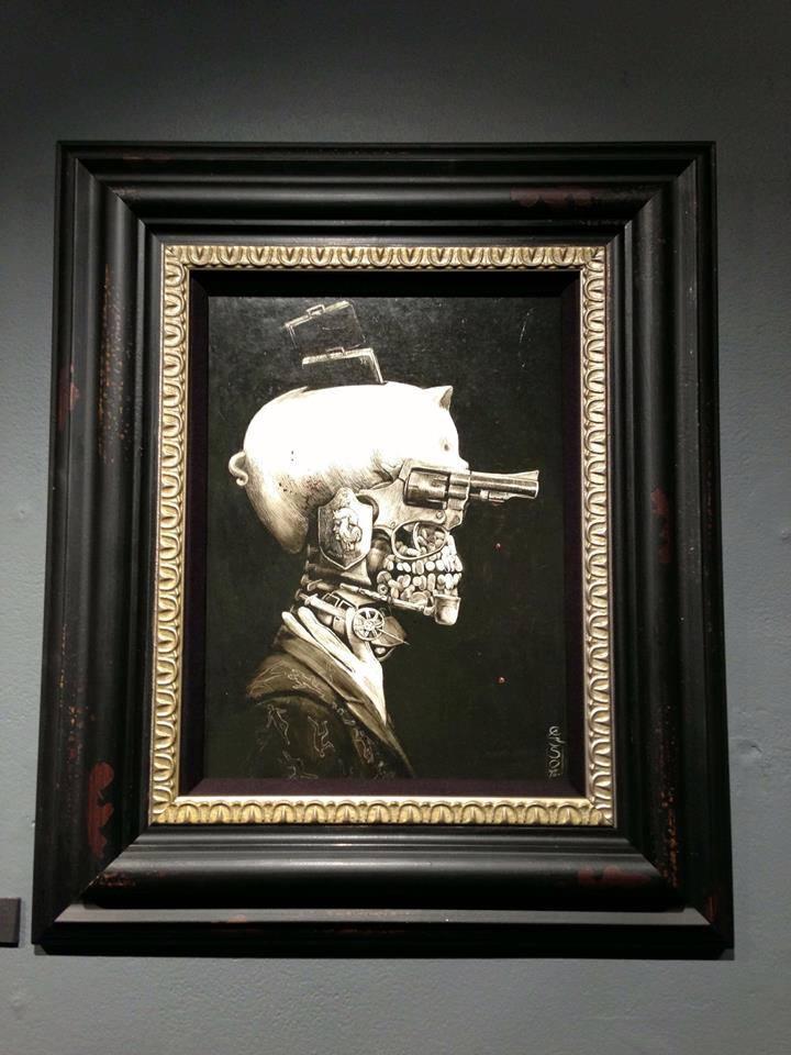 Santiago CARUSO – Portrait of a Crime tableau