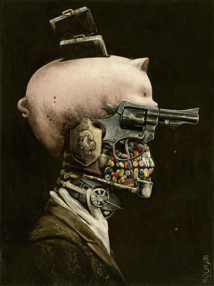 Santiago CARUSO - Portrait of a Crime