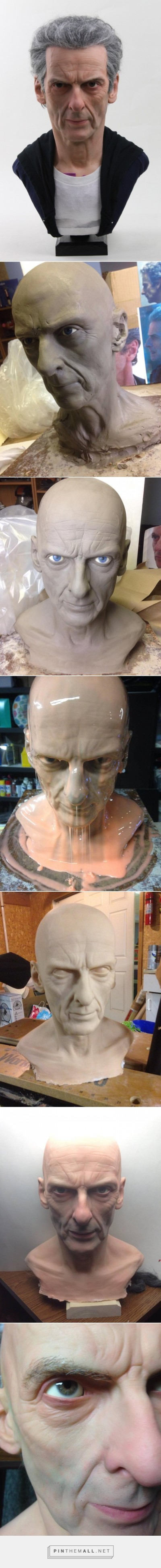 Technique sculpture hyper realiste – 12th Doctor (Peter Capaldi) Life-Sized Sculpture by mrstevenrichter –  http://imgur.com/gallery/31NDo