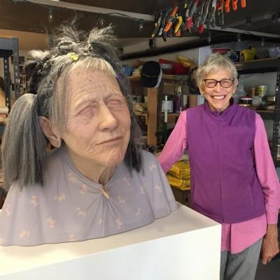 Tip Toland – hyper realistic sculpture Beauty Parlor, 2017