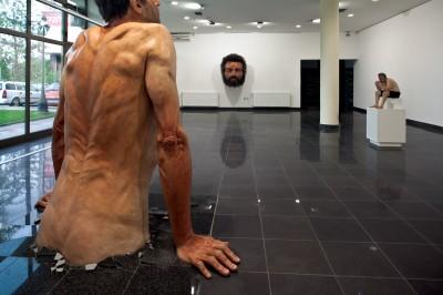 Zarko Baseski – Ordinary man – sculptures hyperrealiste / http://zarkobaseski.net