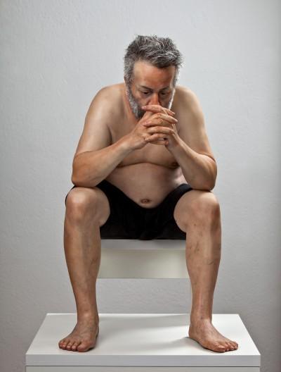 Zarko Baseski – Self Portrait – hyper realistic sculpture / http://zarkobaseski.net