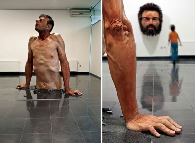 Zarko Baseski – sculptures Ordinary man -hyperrealiste / http://zarkobaseski.net
