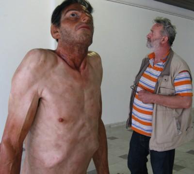 Zarko Baseski – sculptures hyperrealiste – Ordinary man / http://zarkobaseski.net