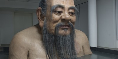 Zhang Huan, Q-Confucius No.2 – The Rockbund Art Museum