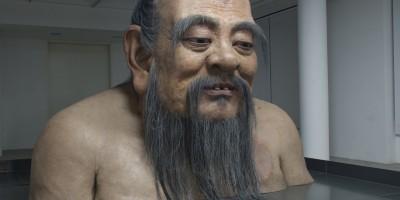 Zhang Huan, Q-Confucius No.2 – The Rockbund Art Museum