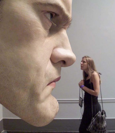 ron mueck- sculptures hyperealistes