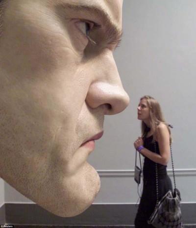 ron mueck- sculptures hyperealistes