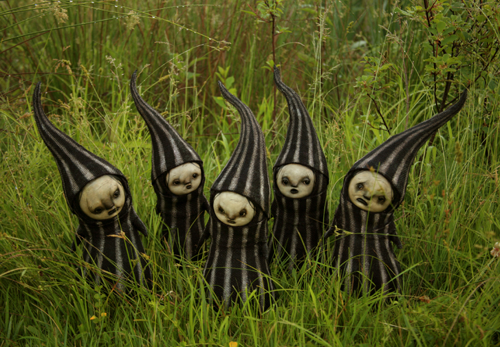 scott radke – sculpture mixed media – coverclowns