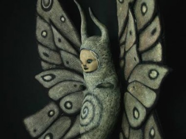 scott radke – sculpture mixed media – papillon