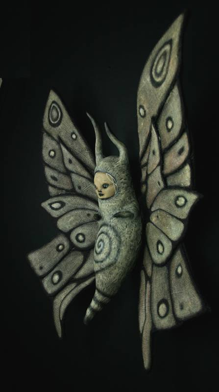 scott radke – sculpture mixed media – papillon