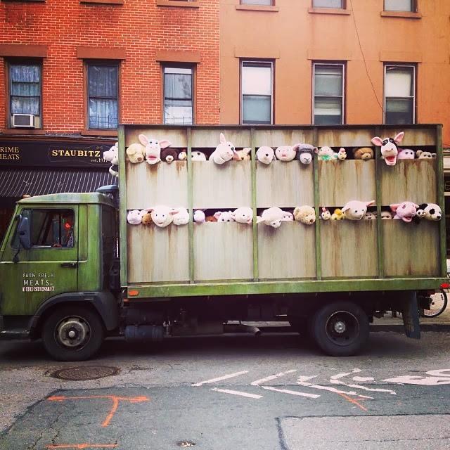 Banksy -Sirens of the lambs