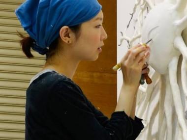 Ishibashi Yui – portrait – Artiste sculpteur