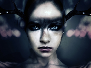 Jenn Violetta – forever fall – macabre photography