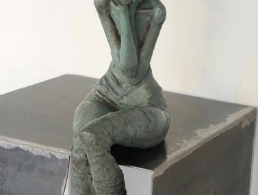 Valérie Hadida – A fleur de peau, sculpture