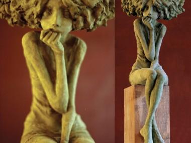 Valérie Hadida – melancolie, sculpture