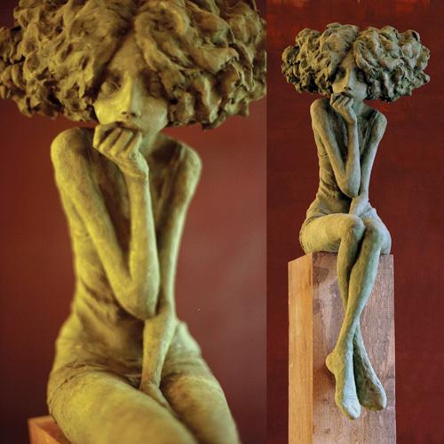 Valérie Hadida - melancolie, sculpture