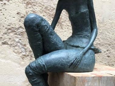 "Valerie Hadida – Sculpture ""Petite Rachel"""