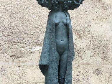 Valerie Hadida -Sculpture bronze