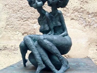 Valerie Hadida – Sculptures – Les inséparables