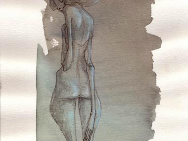 Valerie Hadida – dessins aquarelle