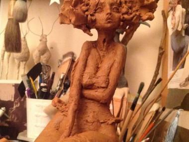 Valerie Hadida – wip sculpture