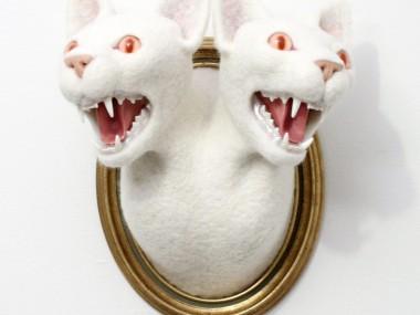 Zoe Williams – The hydra sculpture 2cats