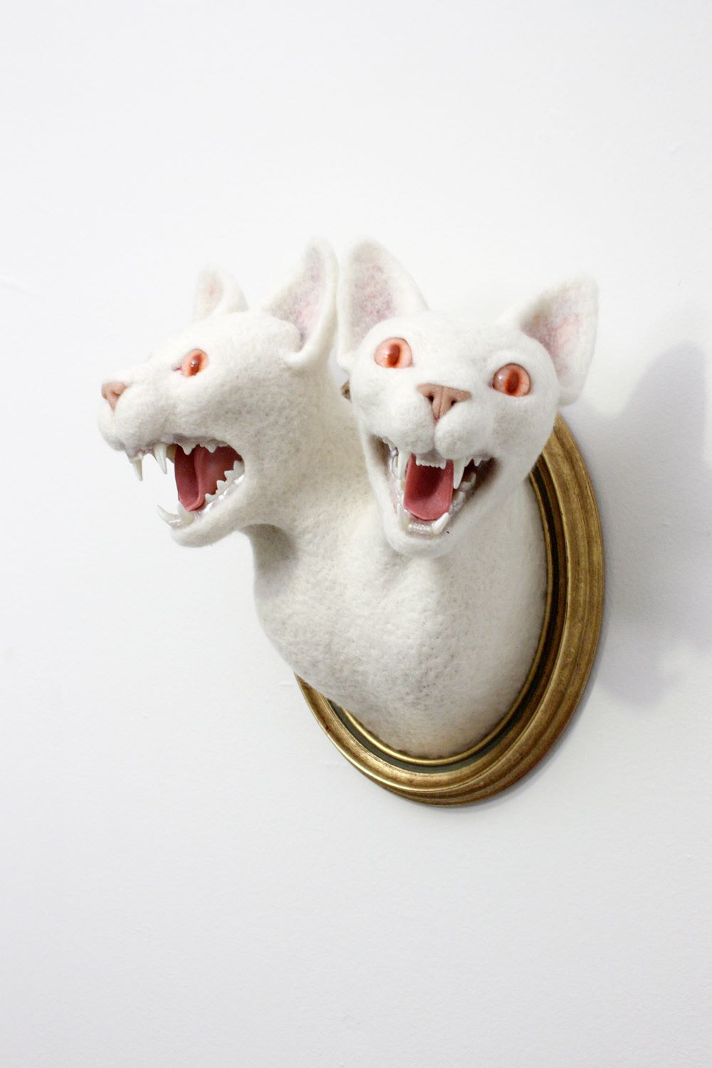Zoe Williams – The hydra sculpture 2cats