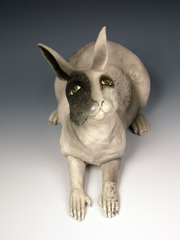 kelly connole-Hilda – ceramic sculpture