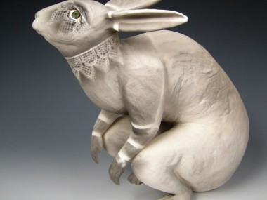 kelly connole-Neda- ceramic sculpture