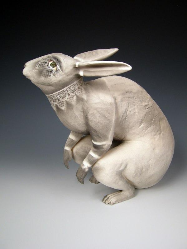 kelly connole-Neda- ceramic sculpture