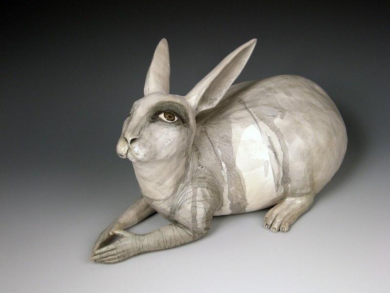 kelly connole – Violet – ceramic sculpture
