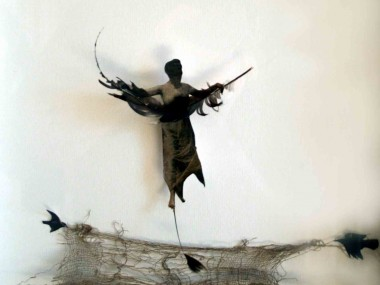 louise richardson – High flyer – mixed media