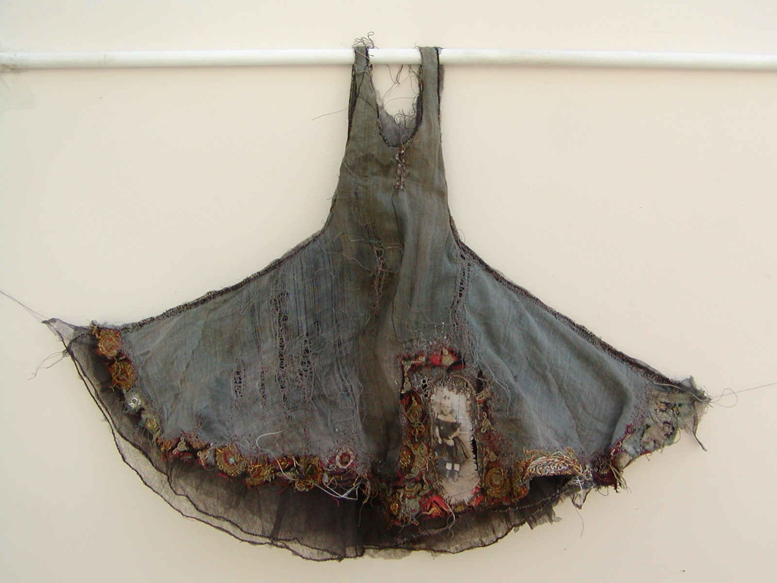 louise richardson – magical and romantic dress – mixed media