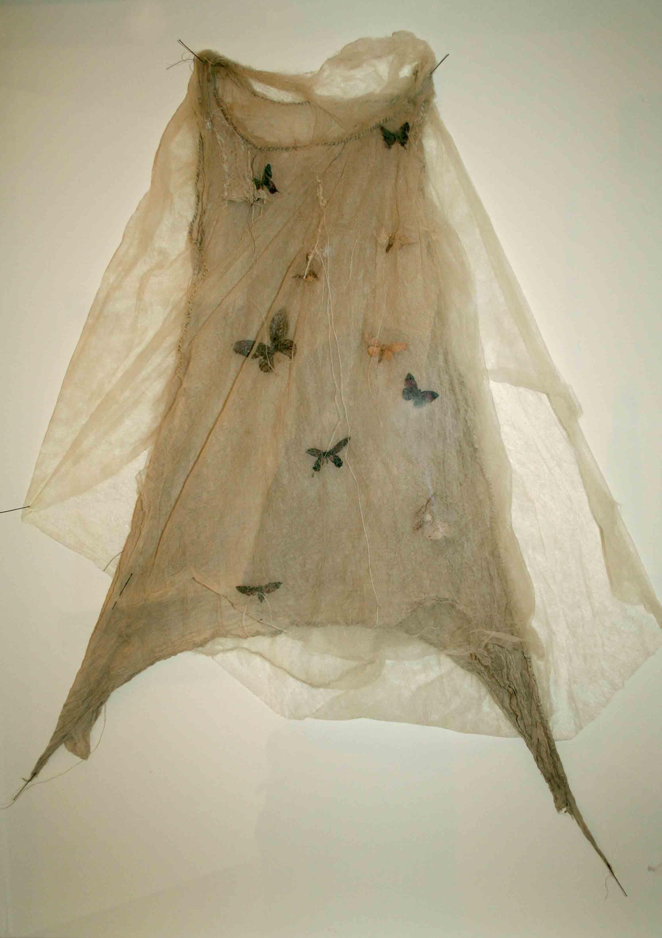 louise richardson – Night dress2 – mixed media